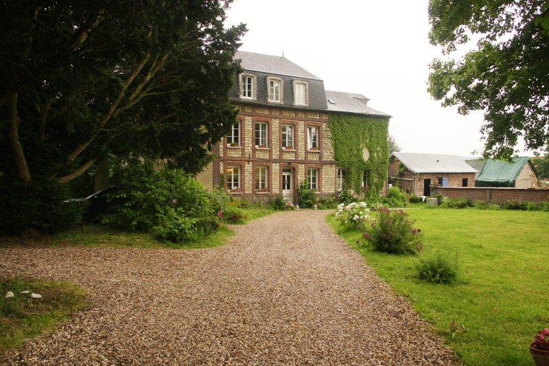 La Tourelle, chambres d'hôtes, vacation rental in Martainville-Epreville