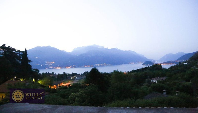 View of Lake Como from back of home