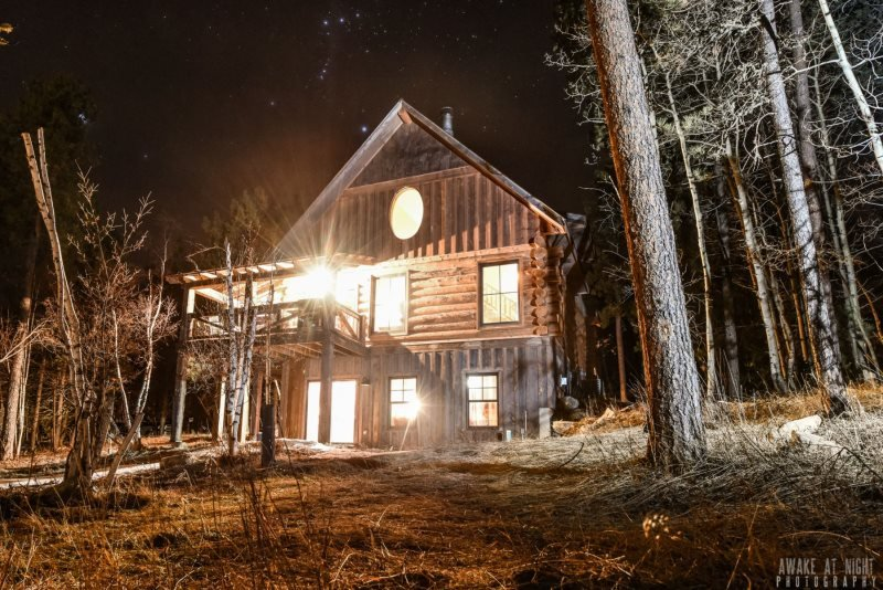 The Outback - Log Cabin Lodge, holiday rental in Iola