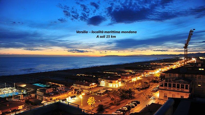 Versilia - famous tuscan sea coast