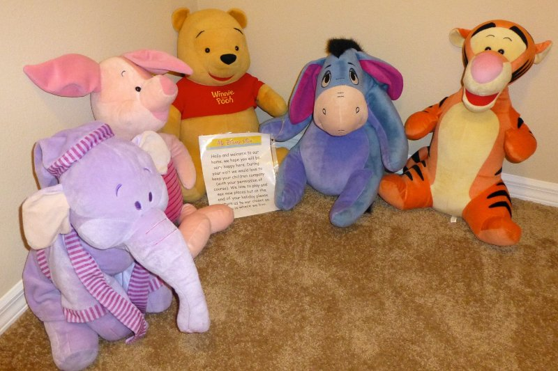 Pooh and Friends.