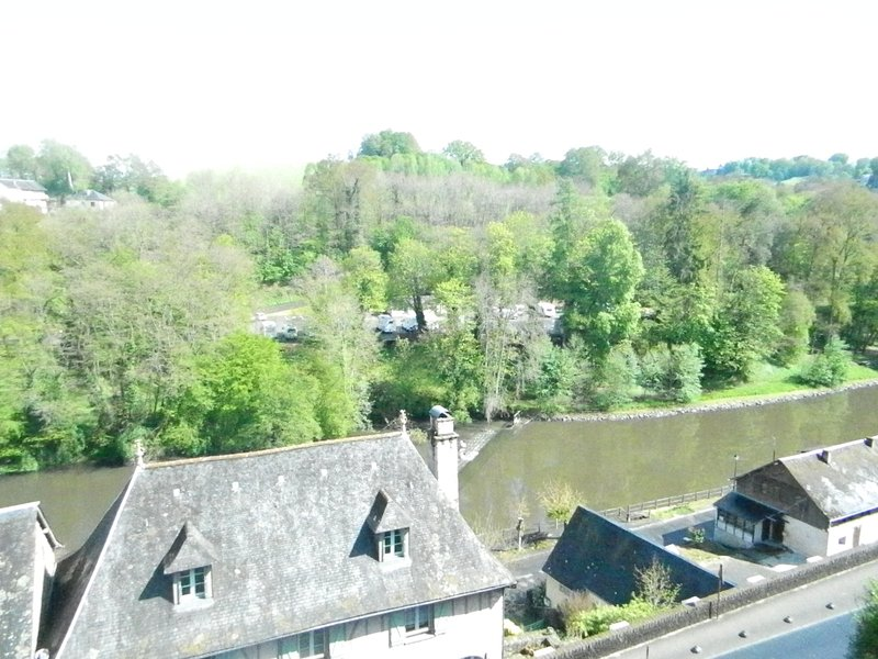 View Of The River Vezere From The Riverside Apartment