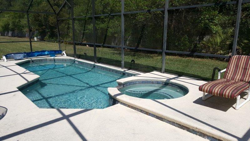 Votre propre piscine privée / spa avec vue sur la conservation
