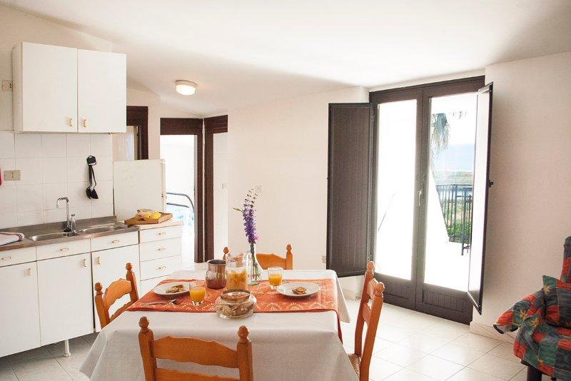 kitchen living room terrace