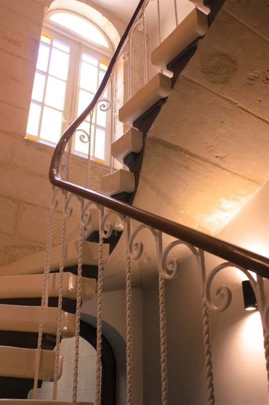 Typical old staircase, Maltese craftsmanship at its best
