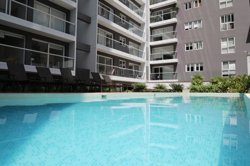 Ground Level  - Outdoor pool / Building Amenities.