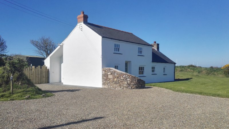 Plenty of Parking right outside.  The Snug forms part of our former pembrokeshire farmhouse.