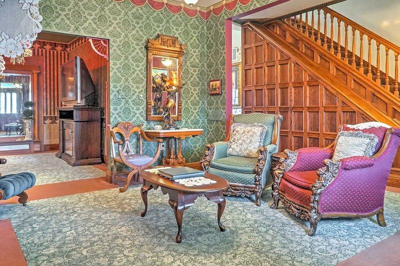 Questa casa per le vacanze vanta 5 camere da letto, 5,5 bagni e una camera per 11!