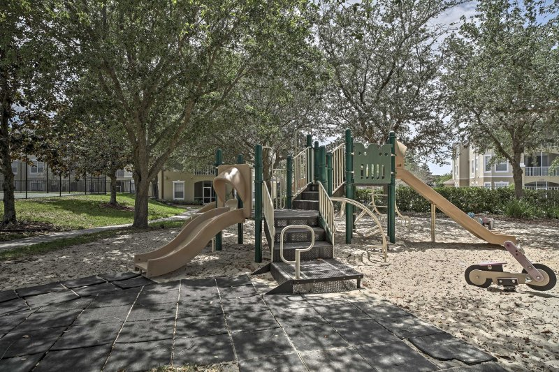 Let the kids romp around on the playground!