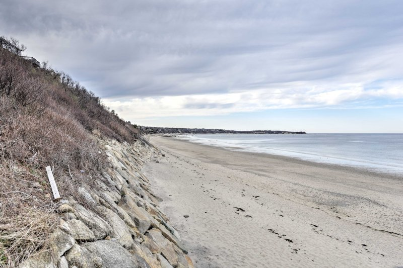 Enjoy a peaceful beach walk when you stay at this Plymouth vacation rental home!