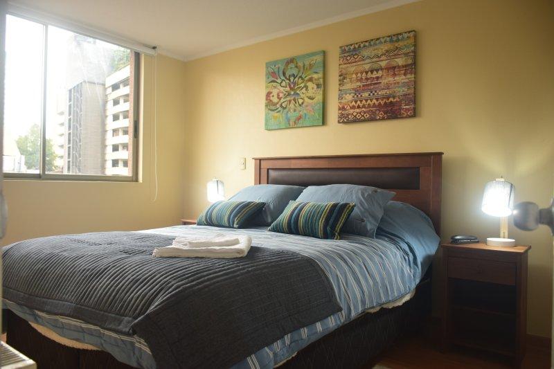 main room queen size bed