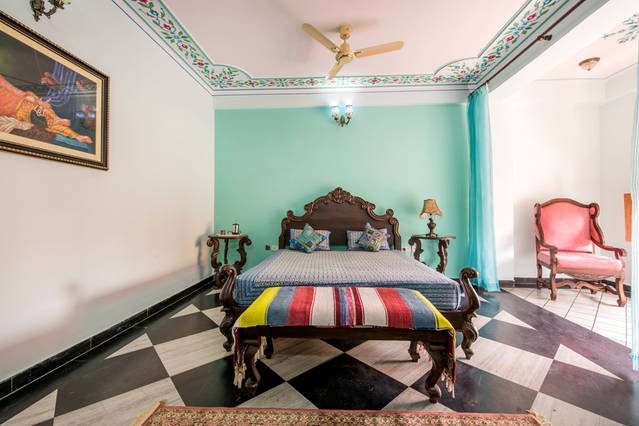 Court Shekha Haveli Room Blue, vacation rental in Jaipur