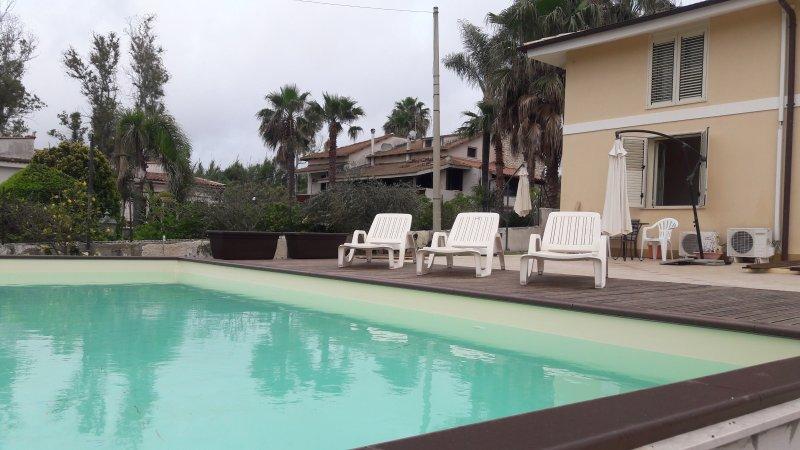 Pool im Freien