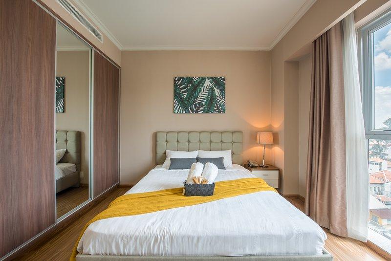 Perfetto calmante, camera da letto senza stress