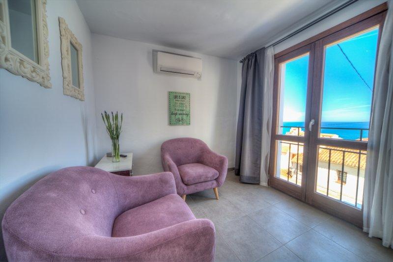 dormitorio suite vistas