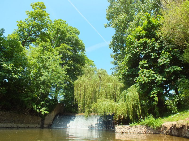 The Byes riverside parkland walk is another location worth visiting at Sidmouth.