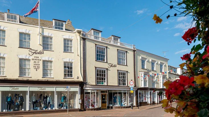 Sidmouth has a great range of shops, eateries and cultural centres.