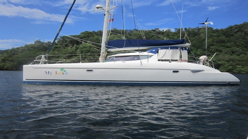 S/V My Love is a spacious, clean 40' catamaran. Come and make memories with us!