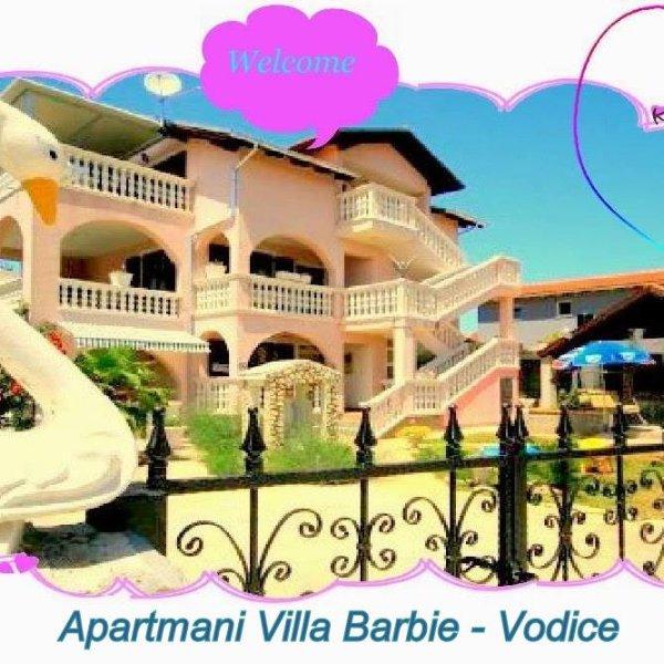 Casa de férias Barbie. Croácia