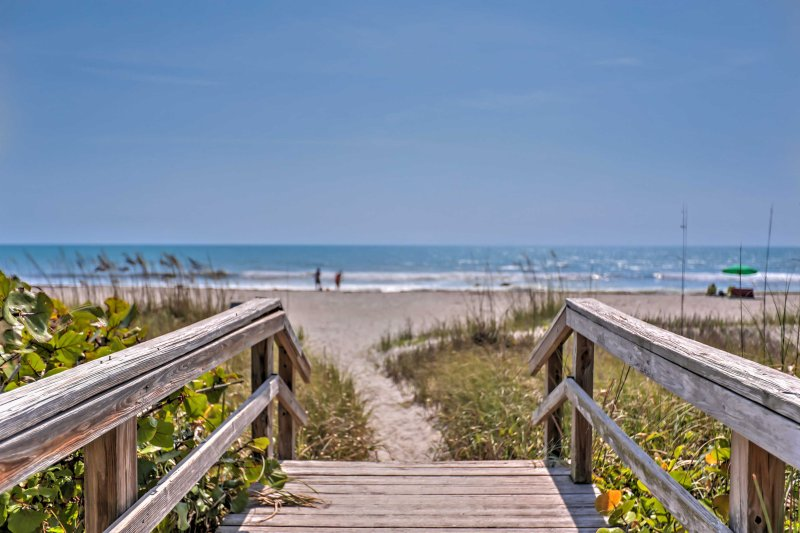 Sun-kissed adventures await just steps away at Cocoa Beach!