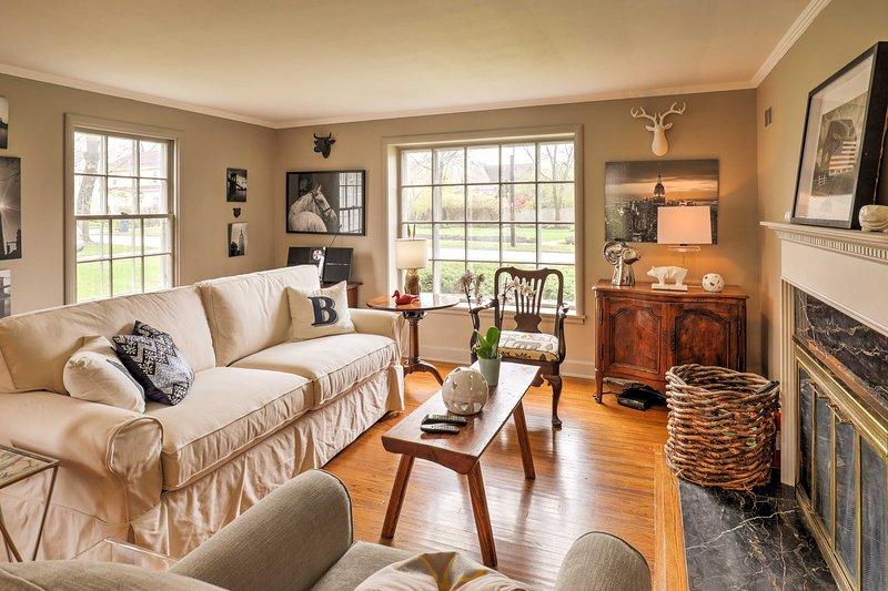 Vous allez adorer tous le décor unique qui accents chaque chambre.