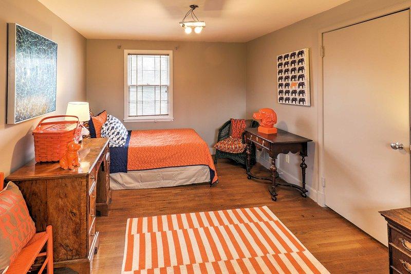 Cette 4ème chambre dispose d'un lit double avec lit gigogne double.