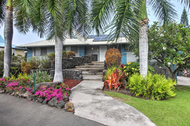 Escape to the Hawaii tropics and stay in this 5-bed, 4-bath vacation rental home