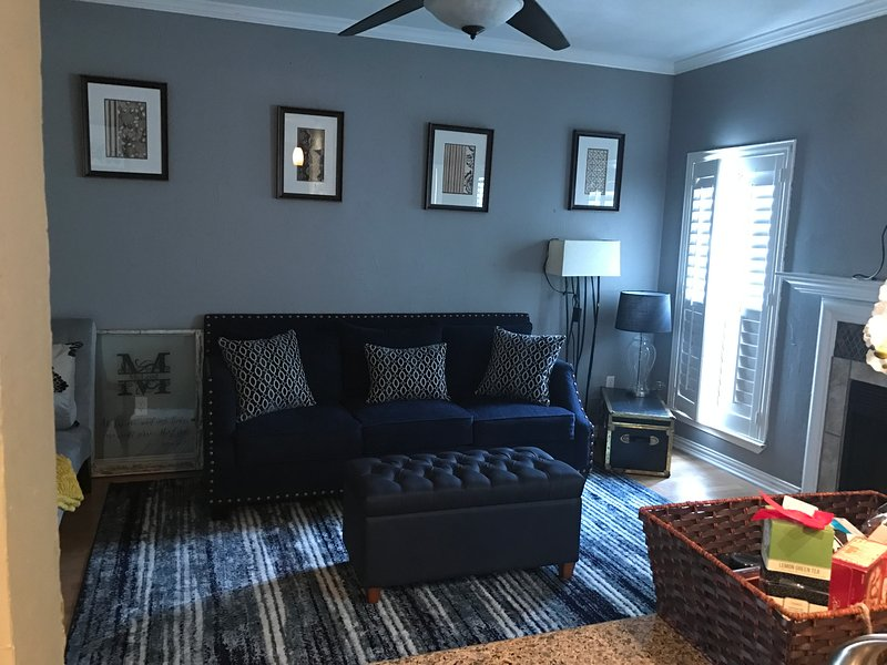 Bright Open Plan Living Area....