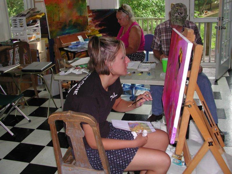 Estudiante de arte