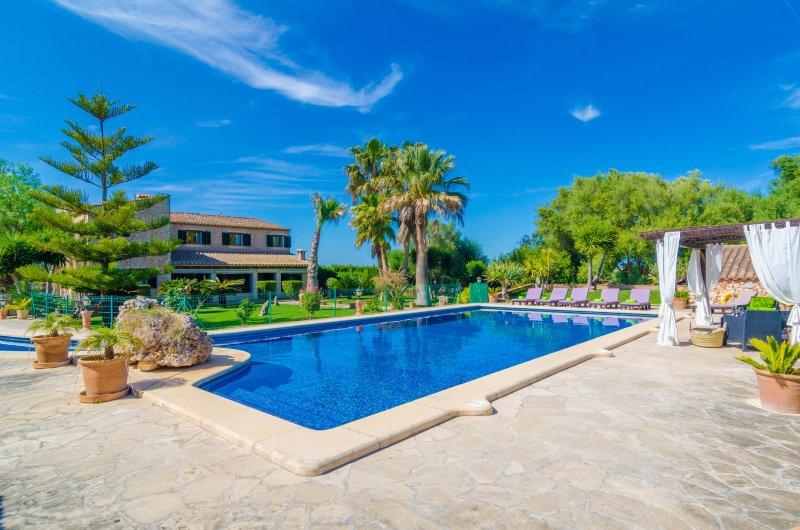 ES CAMP FRED - Villa for 10 people in Son Mesquida (Felanitx), location de vacances à Galilea