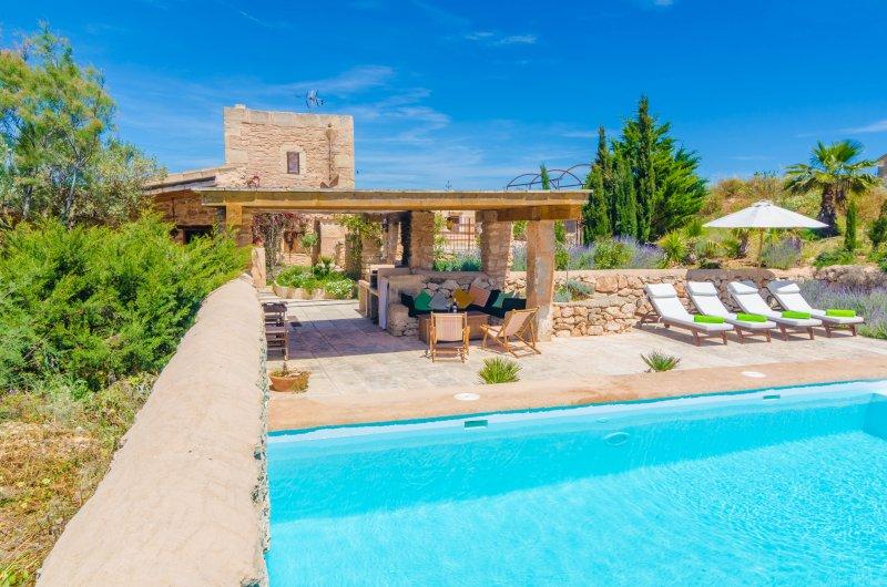VILLA ES MOLÍ DES TRENC - Villa for 9 people in CAMPOS, holiday rental in Campos