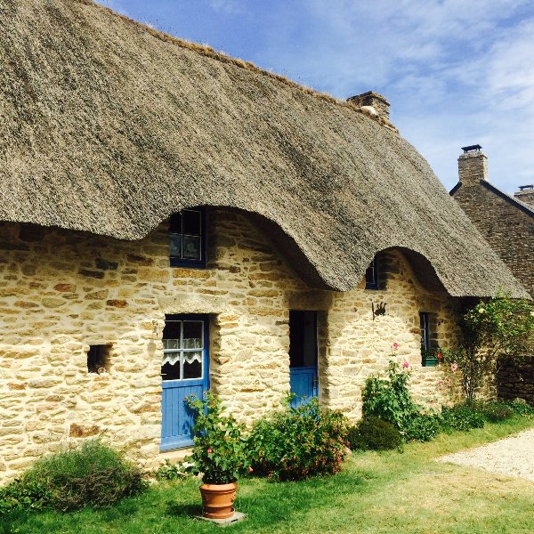 Our Brière cottage of the 16th century