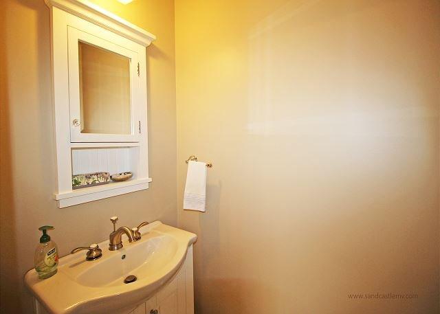 Primer piso medio baño