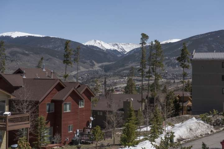 Great View Of Continental Divide From Deck!