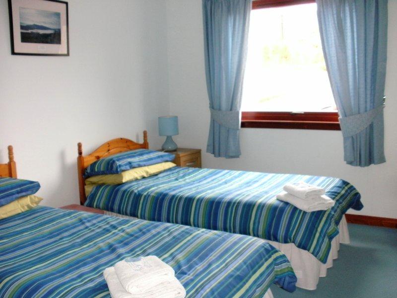 Loch Nevis mit zwei Einzelbetten.