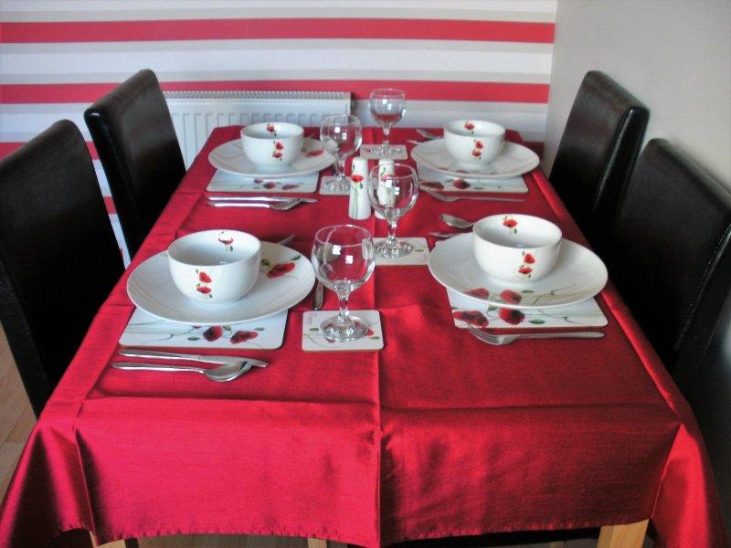 Loch Nevis Küche / Esszimmer.