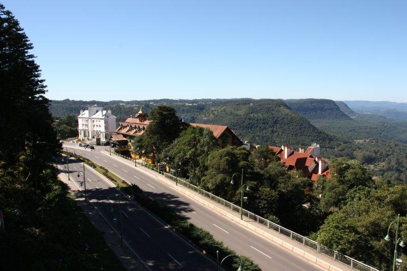 Vista desde el castillo donde se alojará