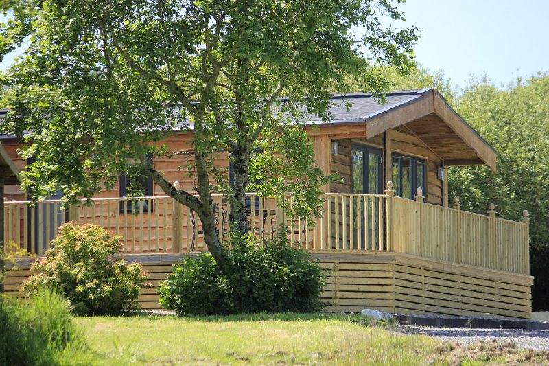 Maple Lodge with private hot tub, location de vacances à Otterham