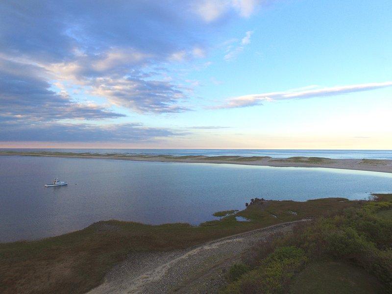 Panoramic water view