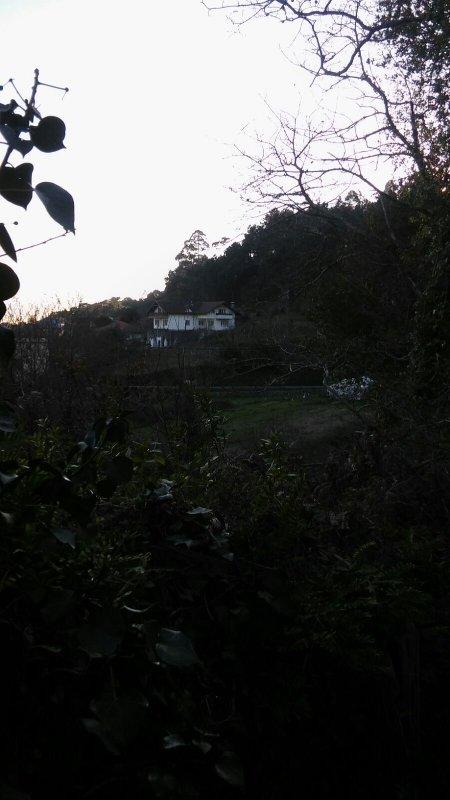 vista da casa do lado de fora