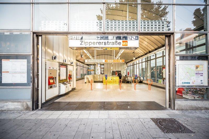 Metro Station in 100 meters away