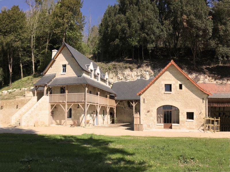 Le Relais du château de Sonnay: 3 Gîtes 4* pour 12personnes, à 7 km de Chinon, holiday rental in Chinon