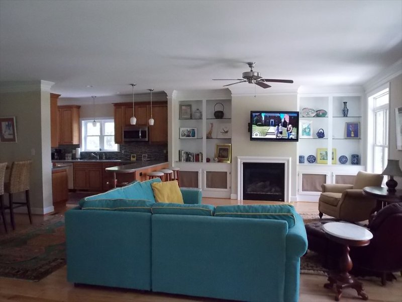 View of Open Concept Living from Entrance