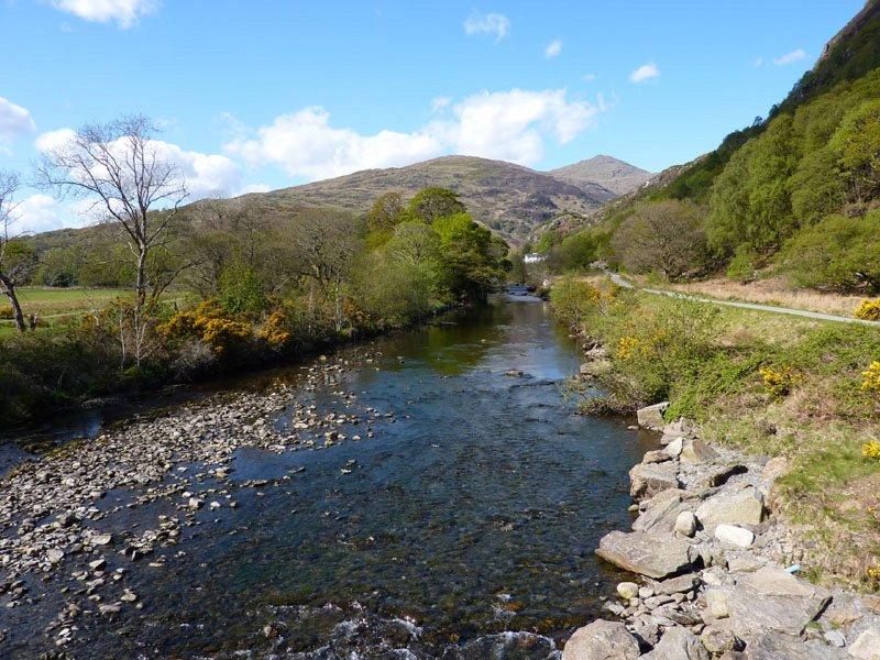 Beautiful riverside walks
