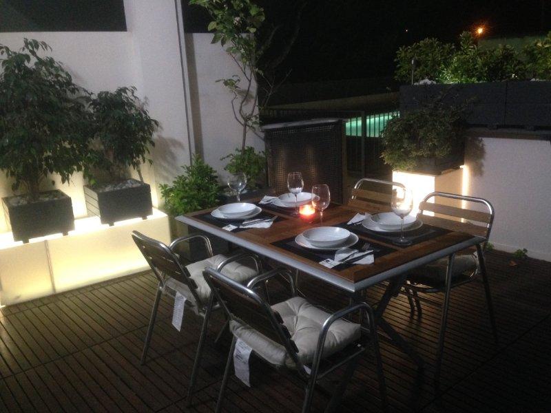 APARTAMENTO PLANTA BAJA CON TERRAZA ,PISCINA COMUNI Y JARDIN JUNTO PLAYA ALMARDA, vacation rental in Almenara