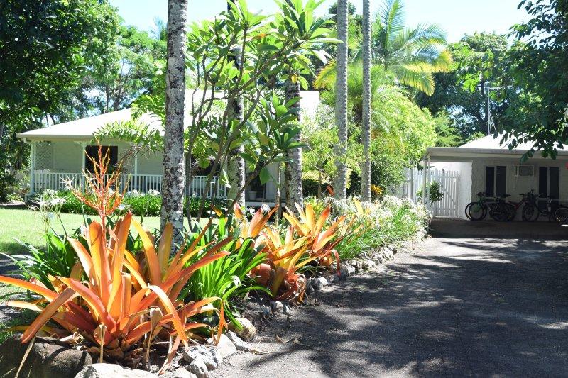 South Pacific BnB, plenty of parking.
