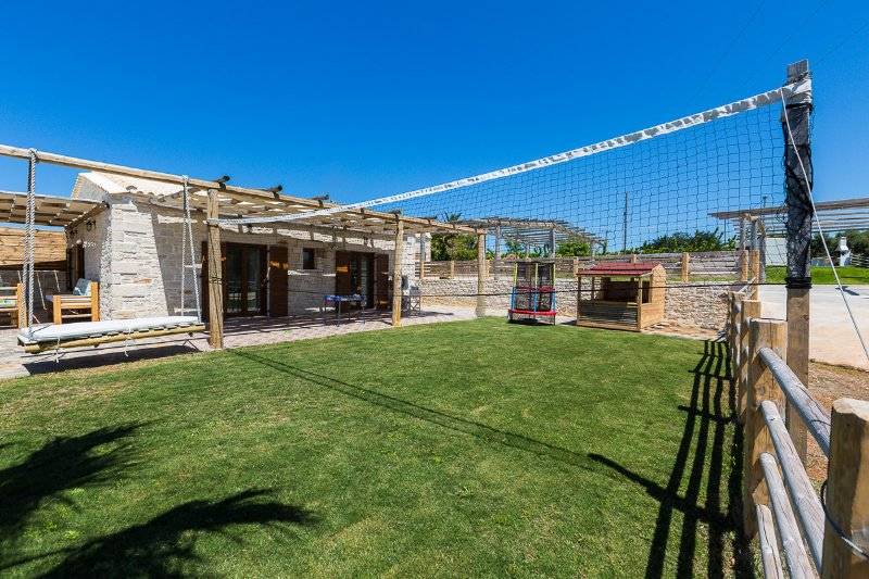 A volleyball net is also available!