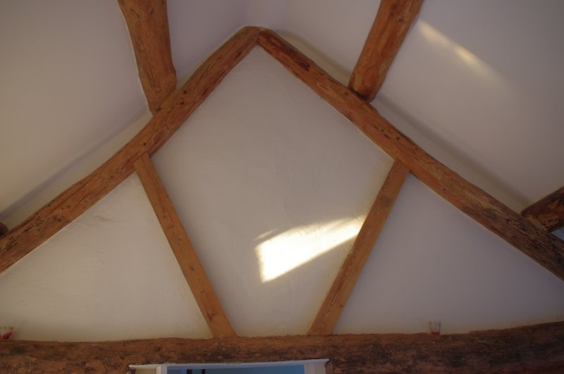 'A' frame in main bedroom