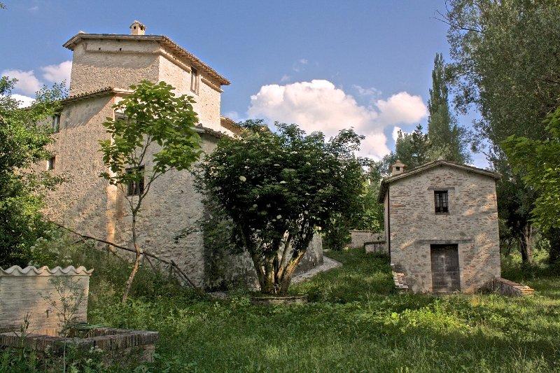 Casale Maggi, 22 ettari di cui 11 di bosco