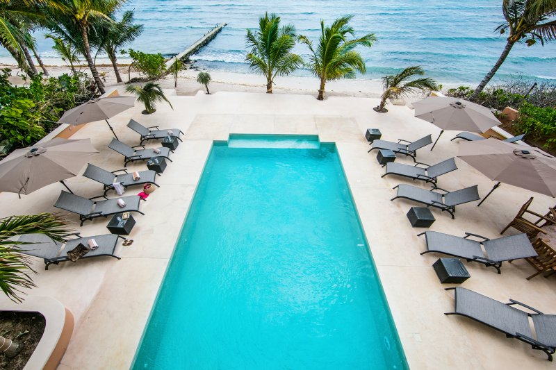 Riviera Maya Haciendas, Hacienda Mágica - Large Swimming Pool Beachside